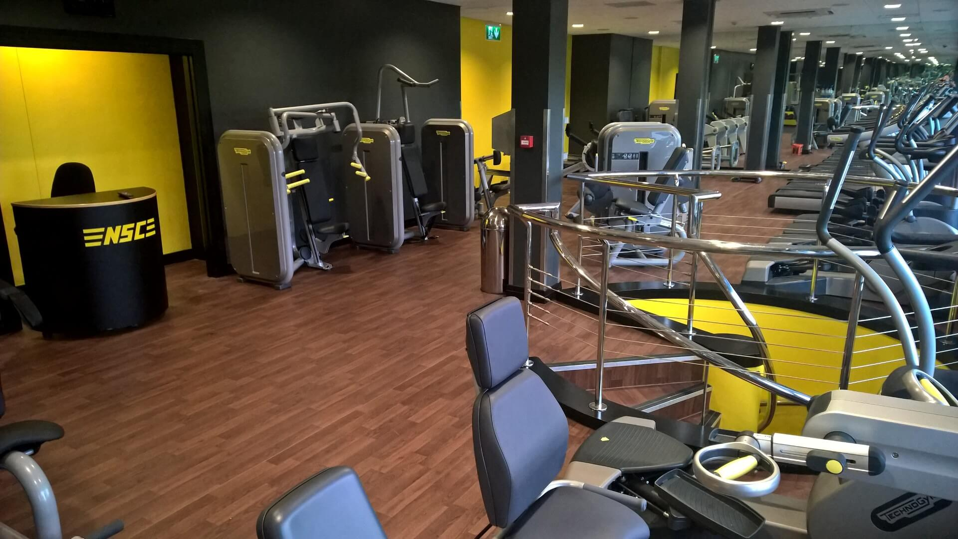 Nsc Gym Fitted Out With Polyflor Safety Flooring Osborn